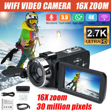 1080P HD 30MP 16X Zoom 3 inch LCD Digital Camcorder Video DV Camera Night Visio
