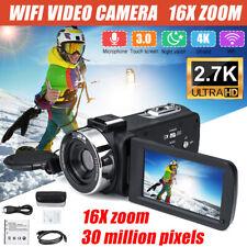 1080P HD 30MP 16X Zoom 3 inch LCD Digital Camcorder Video DV Camera Night Vision