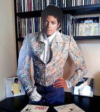Michael Jackson Promo DISPLAY Stand CUTOUT NEW Xscape Thriller Billie Jean Jam