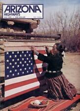 1976 JULY ARIZONA HIGHWAYS INDIAN FLAG ARTIST FLAGSTAFF CENTURY OLD  SALT RIVER