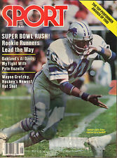 January 1981 Sport Magazine Detroit Lions Billy Sims Football NFL NHL MLB Issue