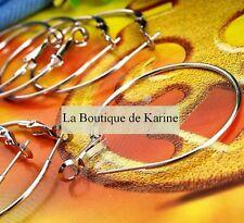 BOUCLES D'OREILLES ANNEAUX  DIAM. 35 mm +EMB CADEAU AA6