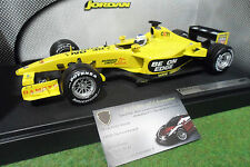 F1 JORDAN FORD EJ13 2003 FISICHELLA 1/18 HOT WHEELS B1649 formule 1 miniature