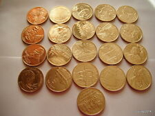 Poland 2 ZL Complete 21 Coins 2011 GN (Billig)