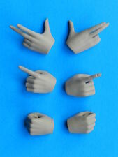 Hot Phicen Sparta Warrior FEMALE HANDS SET 3 Pairs 1/6 Scale toys gripping point