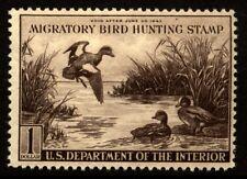 US Scott RW9 Duck Stamp VF Never Hinged