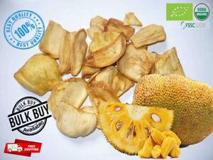 Dried Organic Jack fruit ripe/slices Sri Lanka Natural Forest Garden free Ceylon