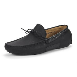 Bruno Marc Mens Comfy Loafers Moccasin Slip On Flats Driving  Casual US Shoes