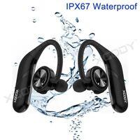XDODY Bluetooth Wireless Earbuds In Ear Sport Headphone Waterproof Mic Headset