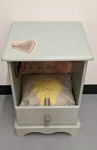 Pet Bed Cupboard For Dog Or Cat with Cushion bedside table