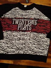 Twenty One Pilots womens 3x Long Sleeve Shirt NWT
