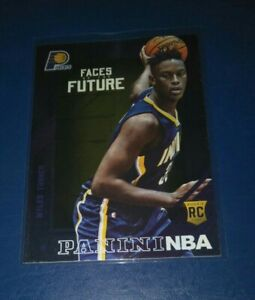 2015-16 Panini NBA Hoops Foil Rookie Card - Myles Turner Indiana Pacers RARE