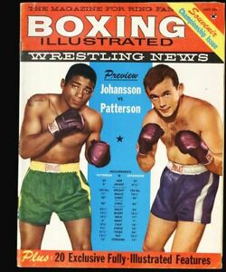 Boxing Illustrated Wrestling News Vol 2 #7 - July 1960 fn 6.0 Gene Kinski ++