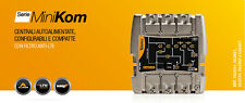 CENTRALINO MINIKOM  TV TELEVES 562401 117 dBµV FM/VHF/UHF/UHF
