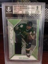2001-02 Mike Modano BAP Ultimate Memorabilia Game-Used Jersey, Beckett Graded