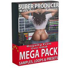 60GB+ Samples Loops Synth Presets LOGIC ABLETON FL STUDIO ONE CUBASE PRO REASON