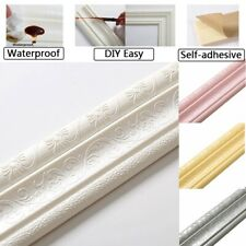 2.3M Self Adhesive Wall Trim Skirting Line Border Sticker Wallpaper Home Decor
