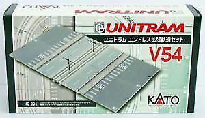 Kato 40-804 UNITRAM Expansion Set Straight Track V54 (N scale)