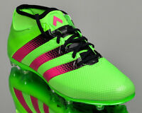 adidas ACE 16.2 Primemesh FG/AG mens soccer shoes cleats mid NEW green AQ2552