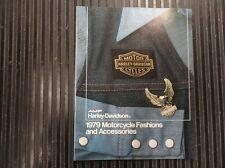 "HARLEY DAVIDSON ""NOS"" 1979 FASHIONS & ACCESSORIES CATALOG #99457-79W"