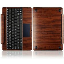 Skinomi Skin Dark Wood Cover for Asus Transformer Pad TF300 Keyboard Dock