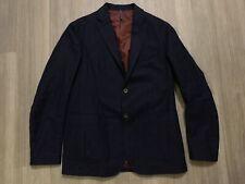 Montedoro Slowear Blazer Jacket, Dark Blue, Size 50EU/L