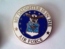 My Daughter Is In The Air Force Hat Pin