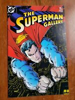 The Superman Gallery #1 5x Signed!  Includes Steranko and Ordway! (DC) (COA)