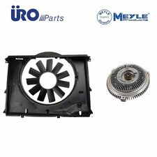 For BMW 528i E39 97-03 Engine Cooling Fan Shroud Blade & Clutch Kit Aftermarket