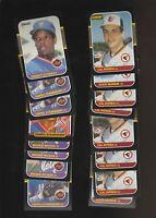 1987 Donruss Leaf Orioles Mets Cal Ripken Jr Eddie Murray + More Lot of 16