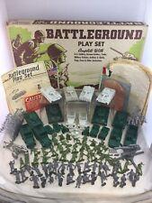 Vintage Marx Battleground 4757 M.O. Playset W/ Box