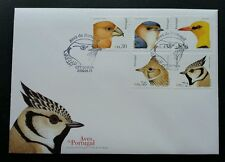 Portugal Birds 2004 Aves Wildlife Fauna (stamp Fdc)