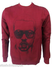 ELEVEN PARIS HOMME KANYE WEST crewnneck Pull marron (eptp038)