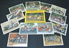 1993 CLASSIC AMERICAN TWO WHEELERS - 12 COLLECTOR CARDS Series I - Impact Images