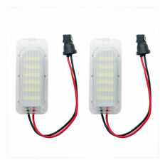 2x LED XENON WHITE LICENSE NUMBER PLATE LIGHT LAMP BULB FIT FORD FIESTA FOCUS UK