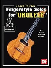 LEARN TO PLAY FINGERSTYLE SOLOS FOR UKULELE + Audio Download