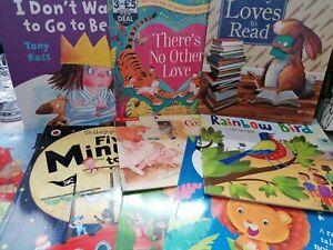 Kids Story Books Bundle Toddler Preschool  x9 Stories VGC Bedtime Reading Books