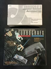 NEC TurboGrafx 16 Console & Accessories - BRAND NEW Turbo Grafx in Original Box!