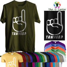 TAWHEED T SHIRT ISLAM PEACE  RELIGION GYM MUSLIM NOVELTY ISLAM