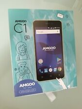 Black  5''LCD Android 7.0 NOUGAT 8MP+2MP 4G HSPA+ Smartphone 8GB ROM 1GB RAM