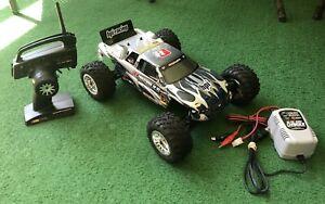 HPI Racing E-Firestorm 10 HT, TF-40 2.4GHz Transmitter, AC/DC Peak Charger 1,2,4