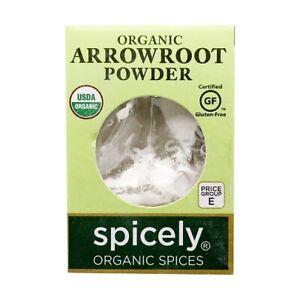 Spicely Organic Arrowroot Powder