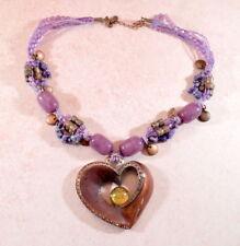 Heart Natural Copper Costume Necklaces & Pendants