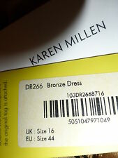 Karen Millen  Beautiful  Long Maxi Dress Size 16 BNWT  - Paid  £210.00