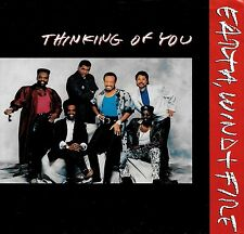 """EARTH, WIND & FIRE """"THINKING OF YOU/Money Tight"""" COLUMBIA 07695 (1988) 45 & PS"""