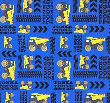 quart TONKA jouet camion à benne basculante coton tissu patchwork