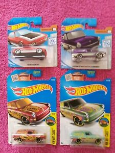 Hot Wheels - Lot of 4 Volkswagen Squareback & SP2 Models