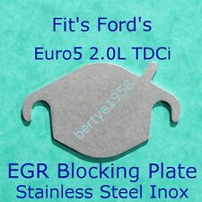 EGR valve blanking plate Ford Mondeo Kuga Focus 2.0L TDCi Euro5 DW10CTED4 engine