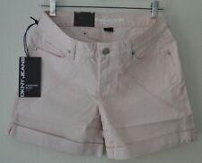 DKNY Jeans Womens Bleecker Boyfriend Shorts Relaxed 5 in. Soft Blush Sz 02 NWT