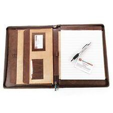 Leather Writing Pad Portfolio Business Case Memo Paper Notebook Cute Organizer